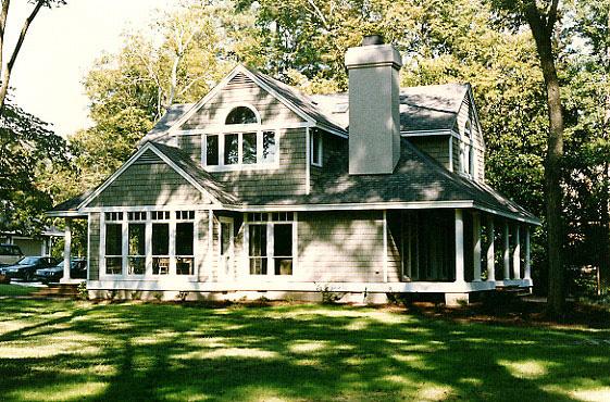 Shingle Cottage Left Side