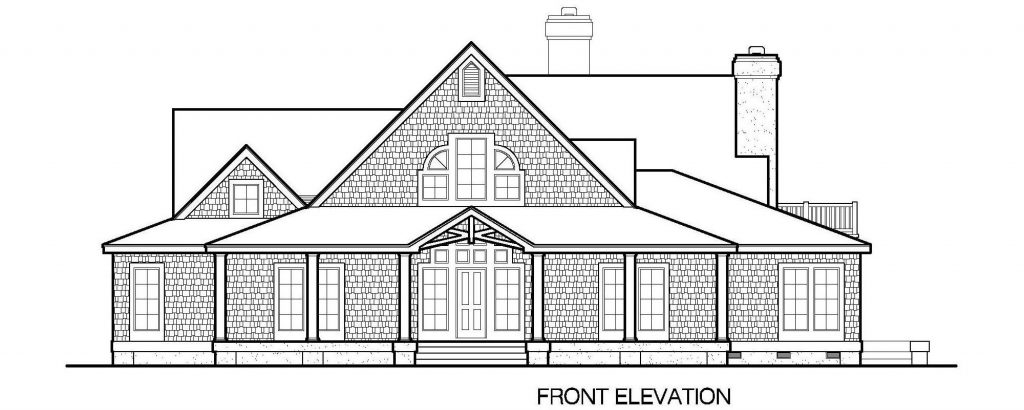 001 - Gables - 3 - Front Elevation