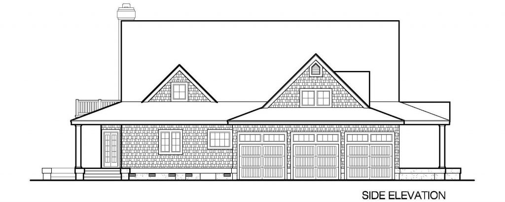 001 - Gables - 6 - Side Elevation