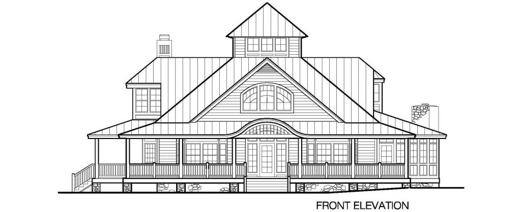 001 - Grand Island-4220-Crlspace - 3 - Front Elevation