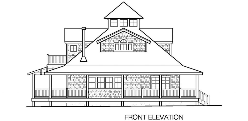 001 - Mountain - 4 - Front Elevation