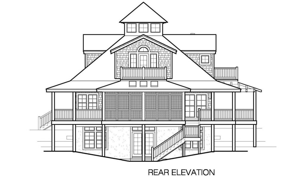 001 - Mountain - 6 - Rear Elevation