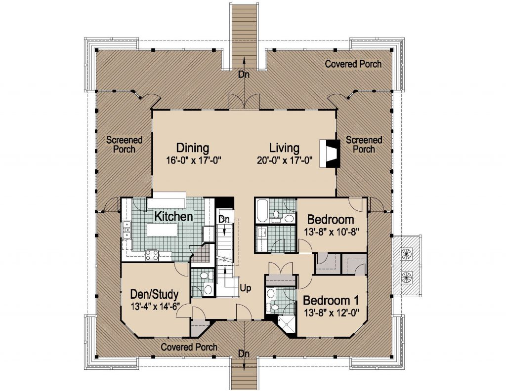 001 - Nagshead - 2 - First Floor