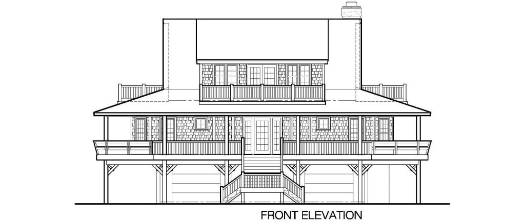 001 - Nagshead - 4 - Front Elevation