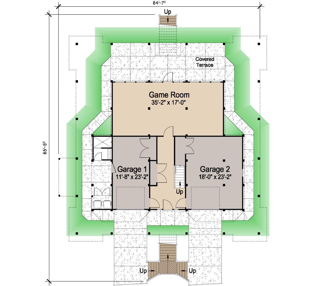 001 - Nagshead - REV - 1 - Ground Floor