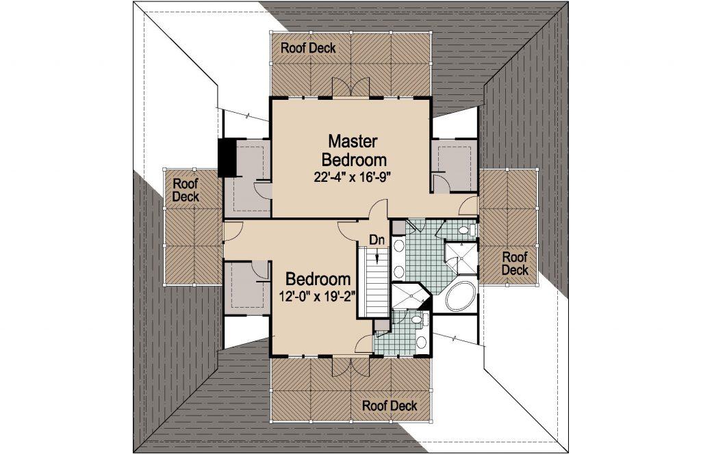 001 - Nagshead - REV - 3 - Second Floor