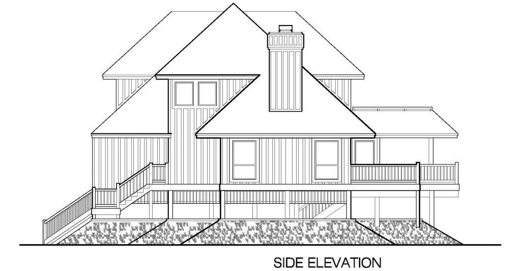 001 - Peaks Std - 5 - Side Elevation