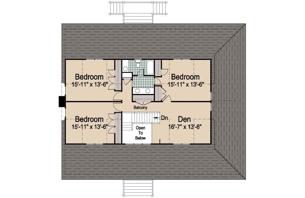 001 - Plantation Std - 3 - Second Floor
