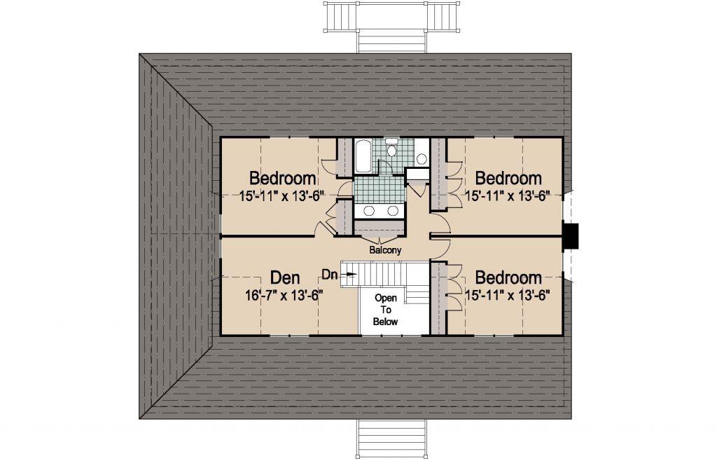 001 - Plantation Std - REV - 3 - Second Floor