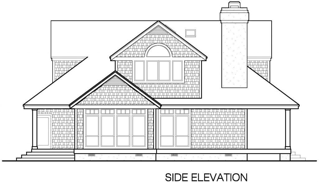 001 - Shingle Std - 6 - Side Elevation