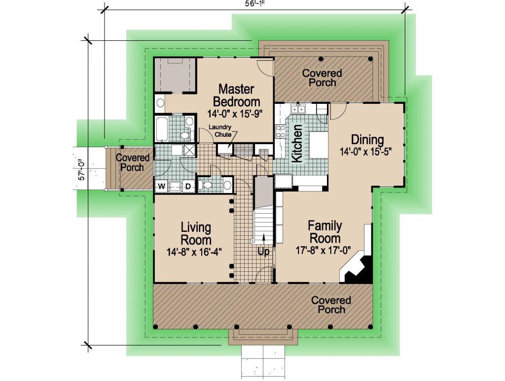001 - Shingle Std - REV - 1 - First Floor