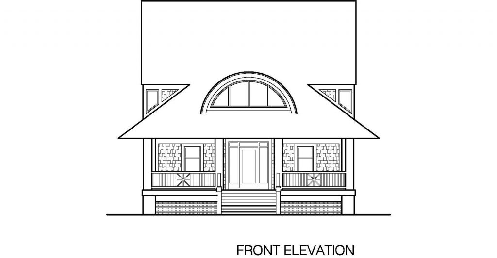 001 - Winds-Crwlspace - 4 - Front Elevation