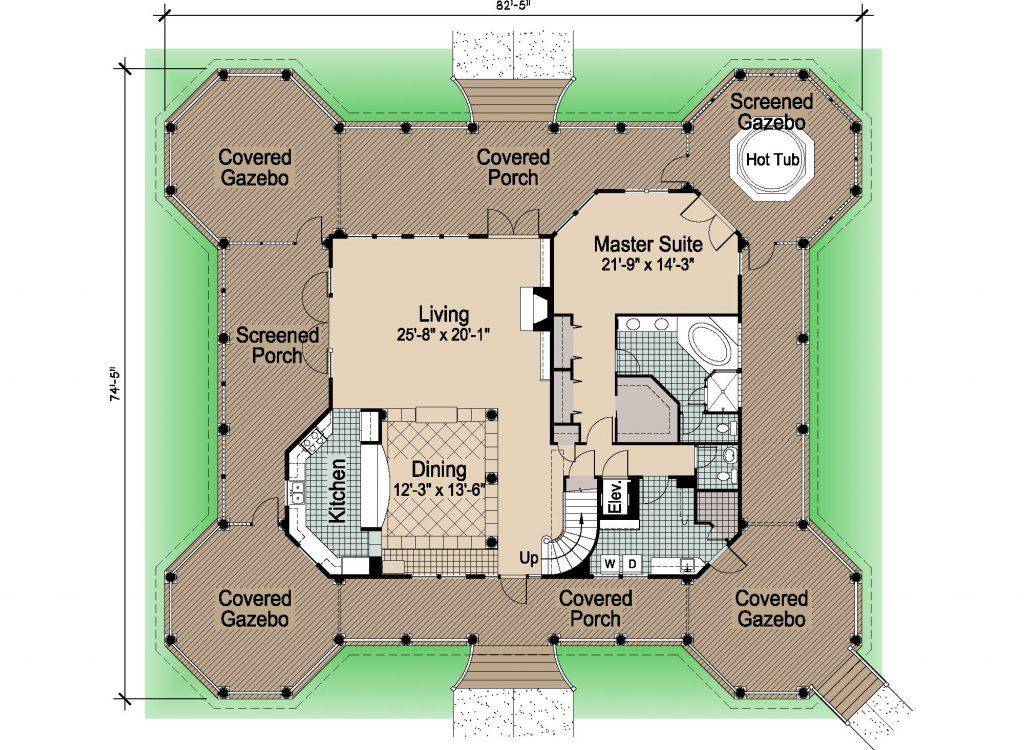 002 - Grand Gazebo - Rev - 1 - First Floor