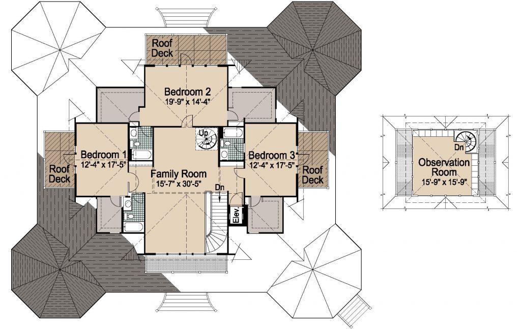 002 - Grand Gazebo - Rev - 2 - Second Floor
