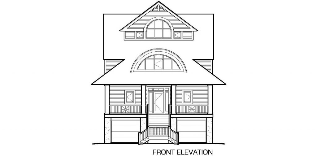 002 - Winds-Pile-Gable - 5 - Front Elevation