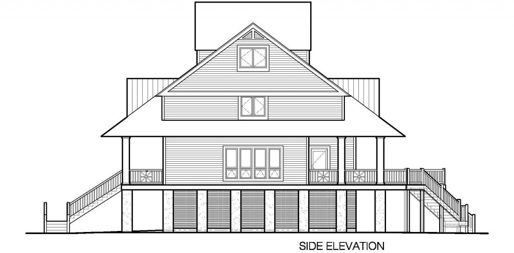 Winds Cottage With Gable Roof Dormers 3143 Sf Southern Cottages