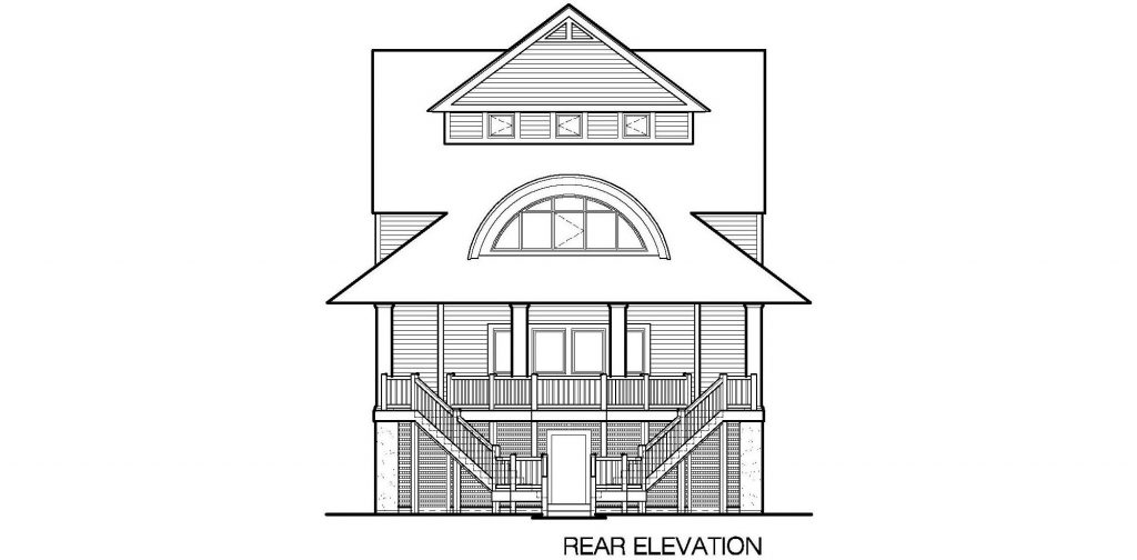 002 - Winds-Pile-Gable - 7 - Rear Elevation