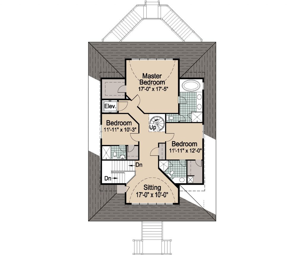 002 - Winds-Pile-Gable Rev - 3 - Second Floor