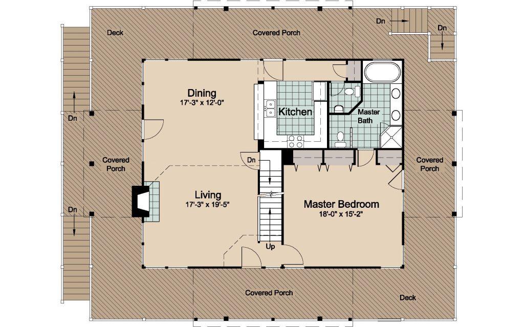 003 - Lookout 2461 WAP - 2 - first floor