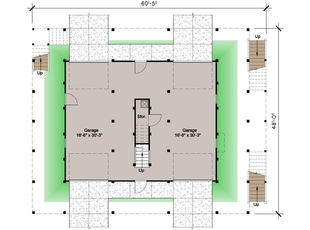 003 - Lookout 2461 WAP Rev - 1 - ground floor