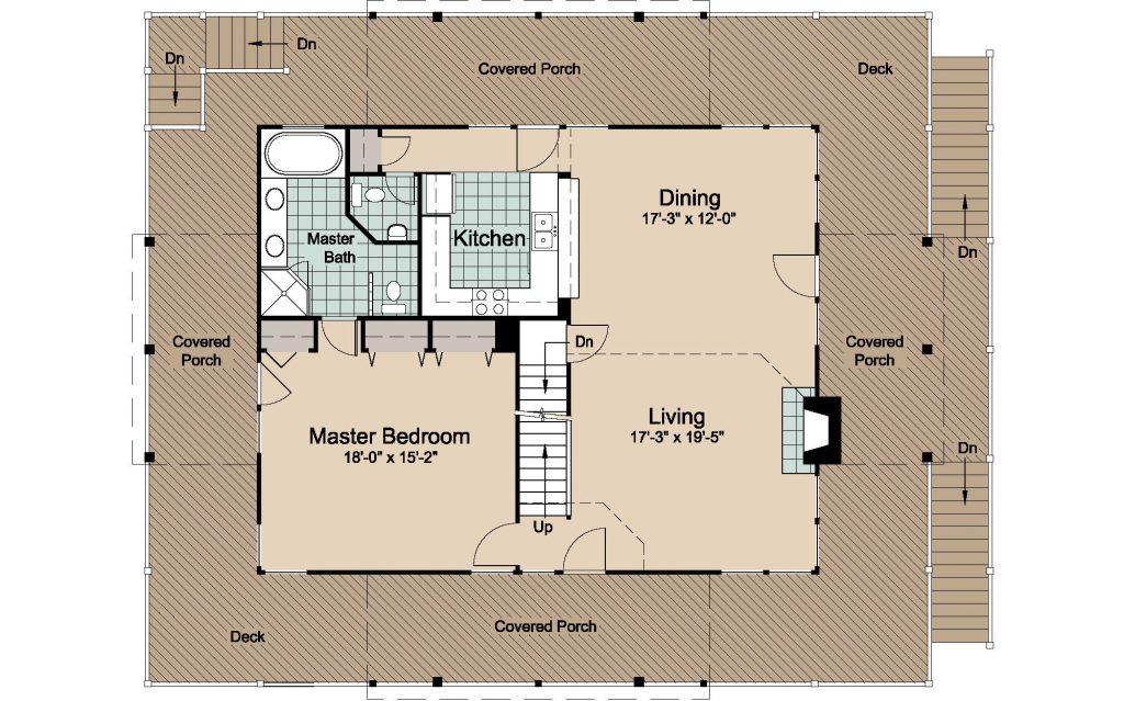 003 - Lookout 2461 WAP Rev - 2 - first floor