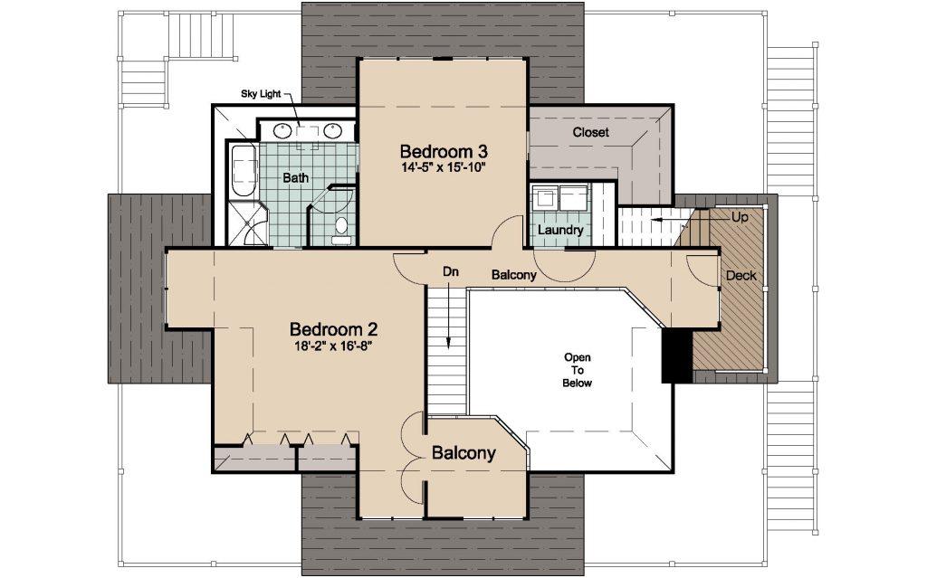 003 - Lookout 2461 WAP Rev - 3 - second floor