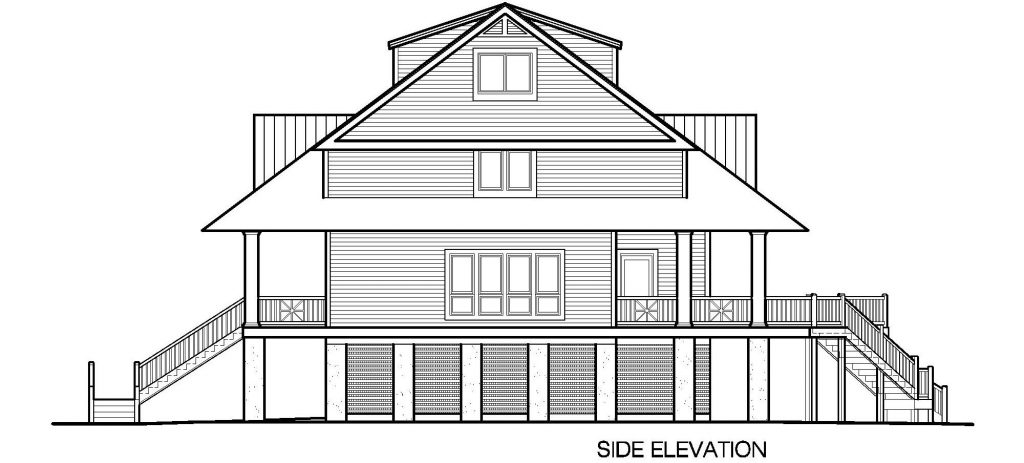 003 - Winds-Pile-Shed - 6 - Side Elevation