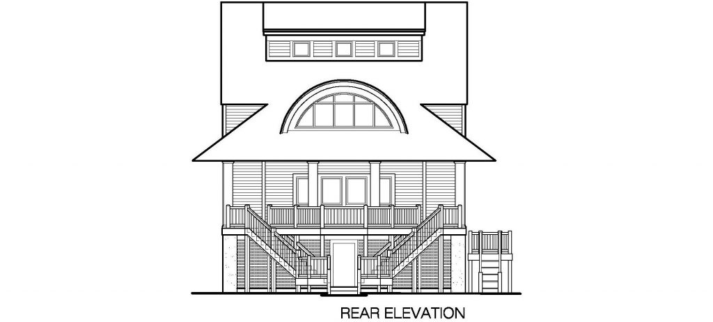 003 - Winds-Pile-Shed - 7 - Rear Elevation