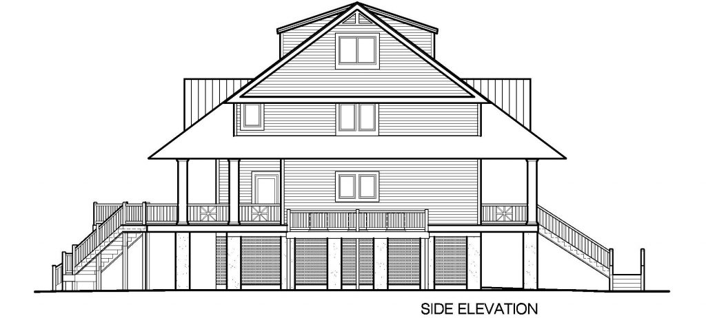 003 - Winds-Pile-Shed - 8 - Side Elevation