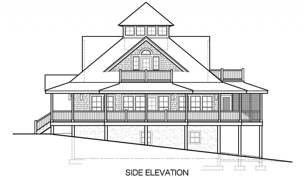 004 - Island-2470-Basement - 5 - Side Elevation