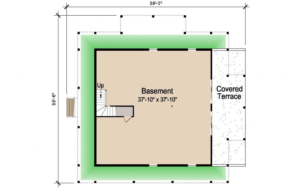 004 - Island-2470-Basement - REV - 1 - Ground Floor