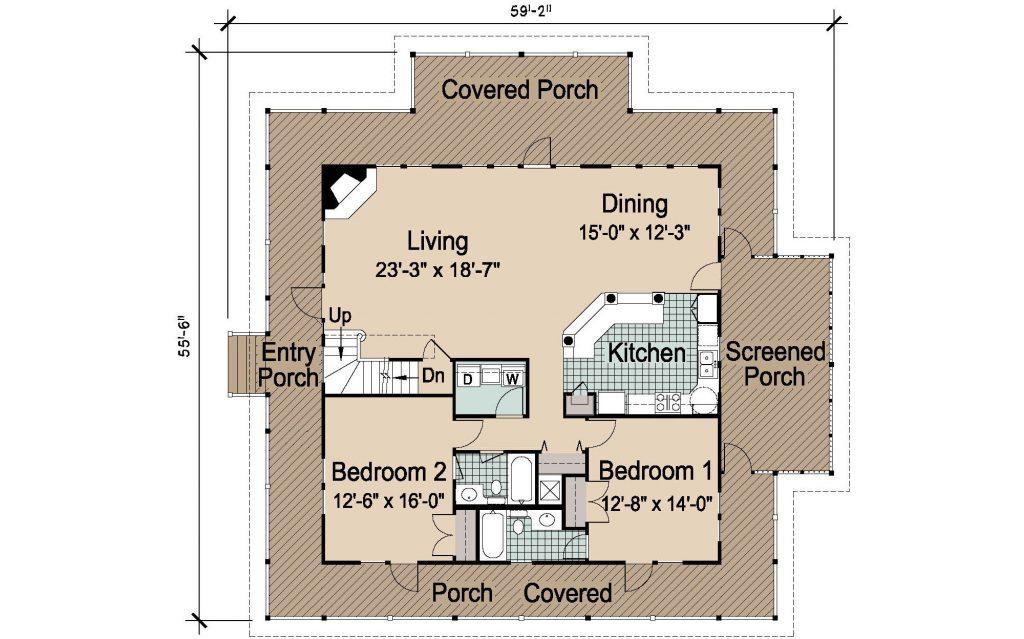 004 - Island-2470-Basement - REV - 2 - First Floor