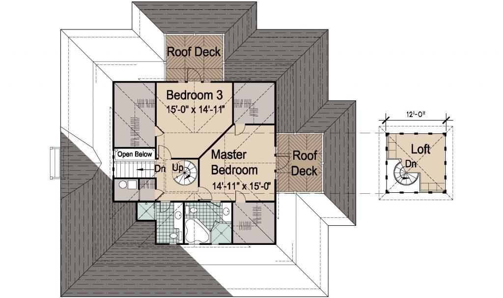 004 - Island-2470-Basement - REV - 3 - Second Floor