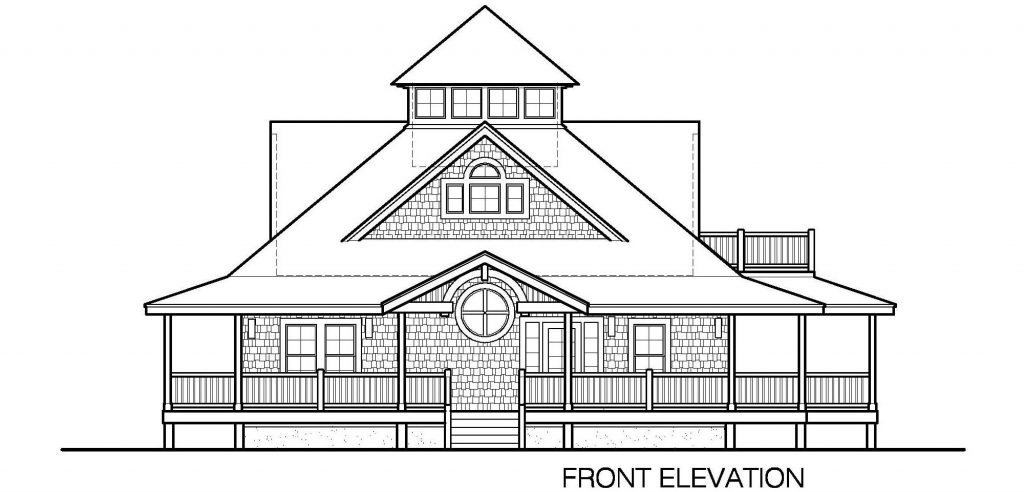005 - Island-2470-Crawlspace - 3 - Front Elevation