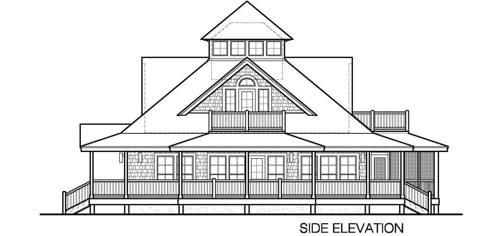 005 - Island-2470-Crawlspace - 4 - Side Elevation