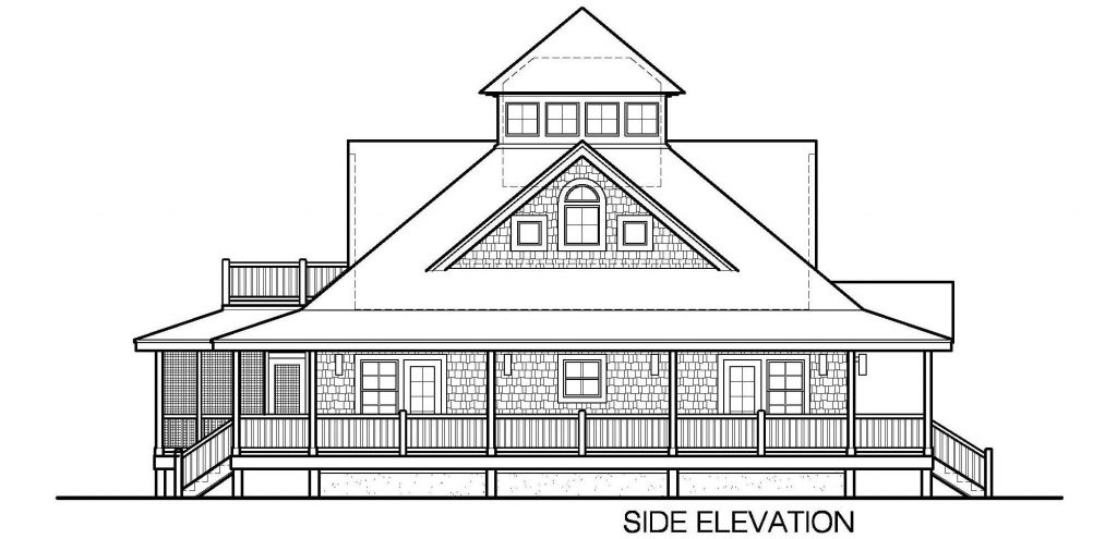 005 - Island-2470-Crawlspace - 6 - Side Elevation