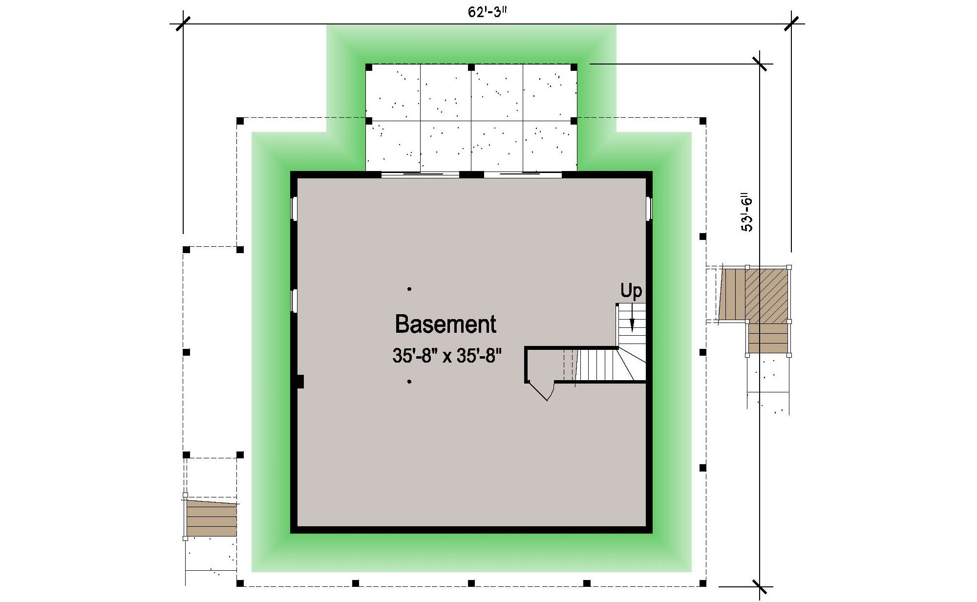 basement foundation design. 007 - Island-2058-Basement 1 Ground Floor Basement Foundation Design O