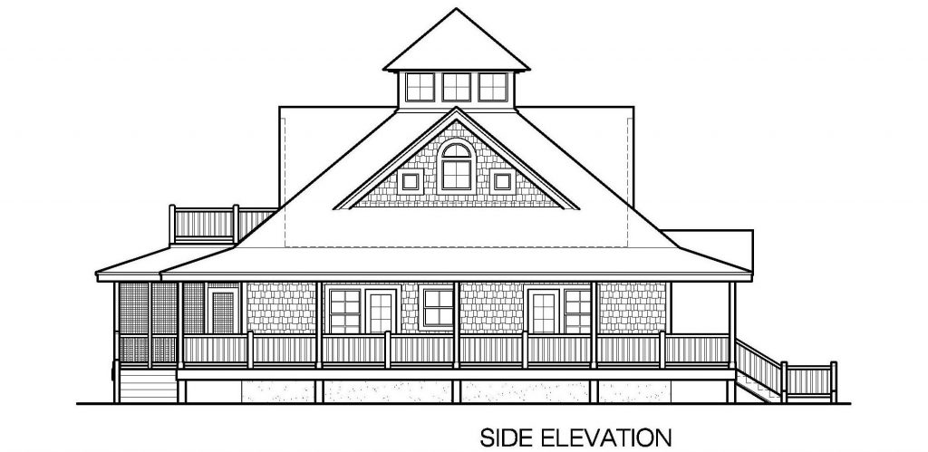 007 - Island-2058-Basement - 7 - Side Elevation