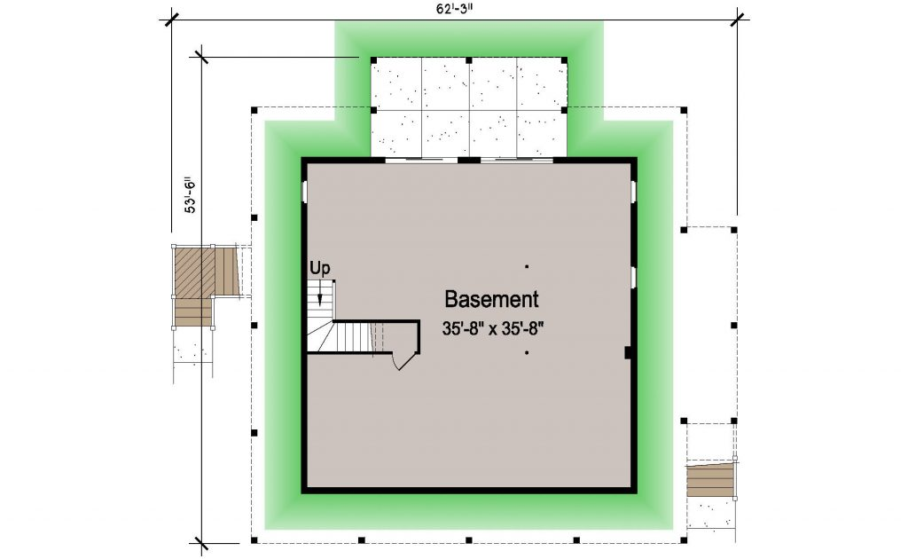 007 - Island-2058-Basement - REV - 1 - Ground Floor