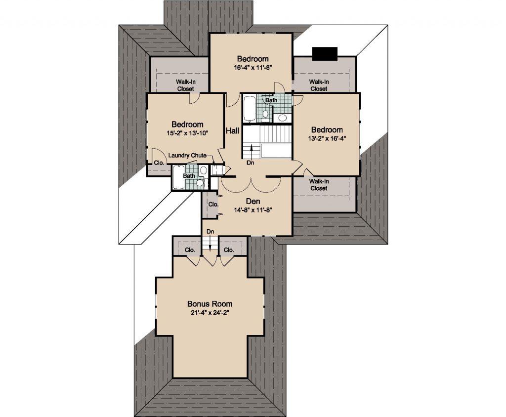 01 - Woods - 2 - second floor