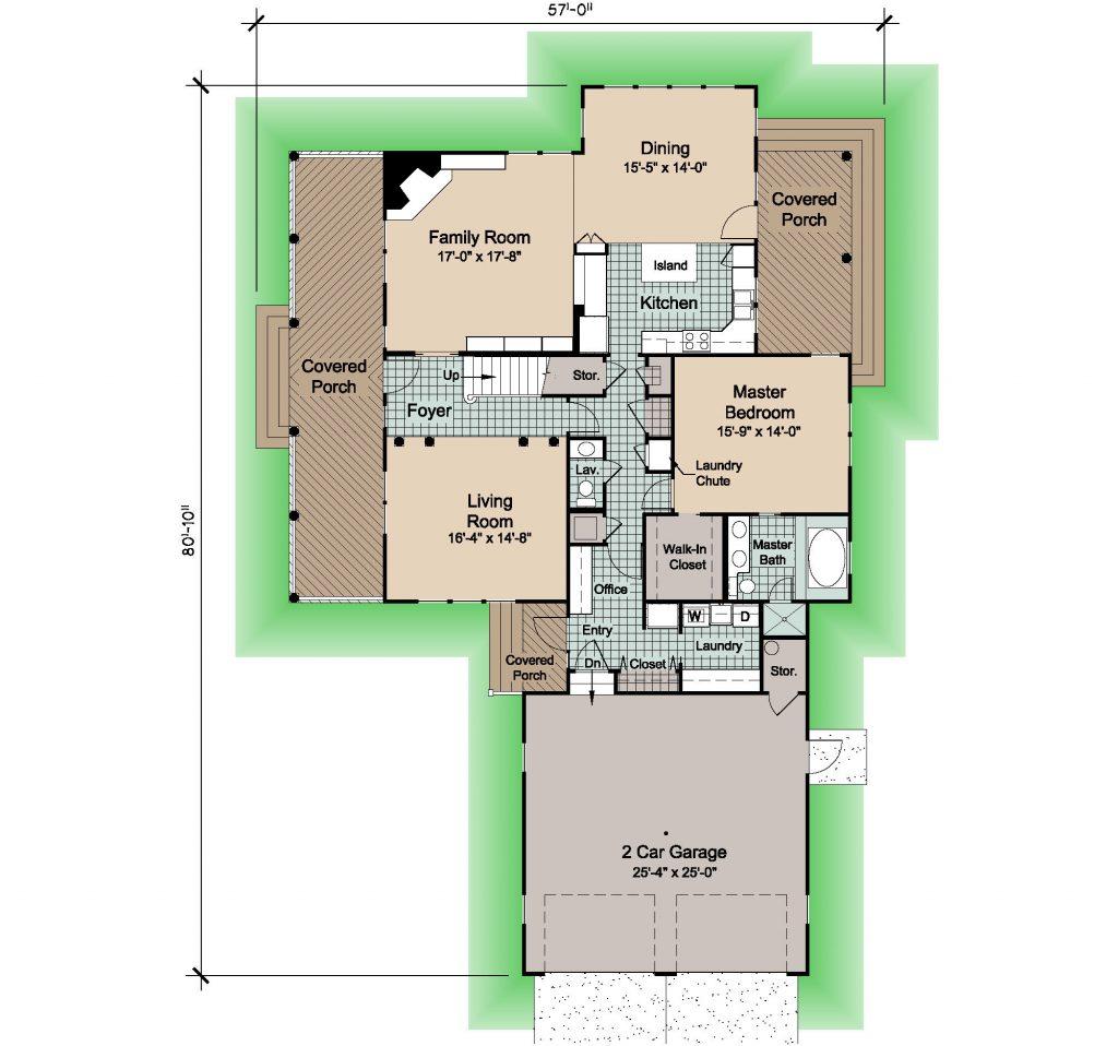02 - Woods Rev - 1 - first floor