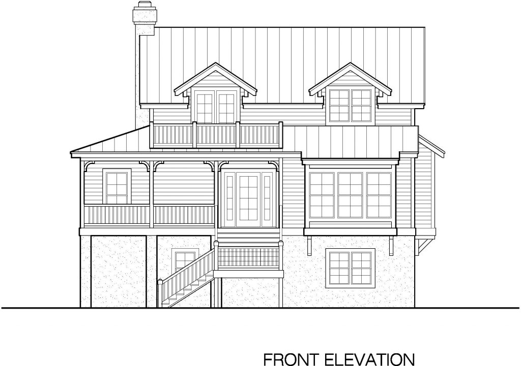 07 - Country-3565 - 4 - front elevation