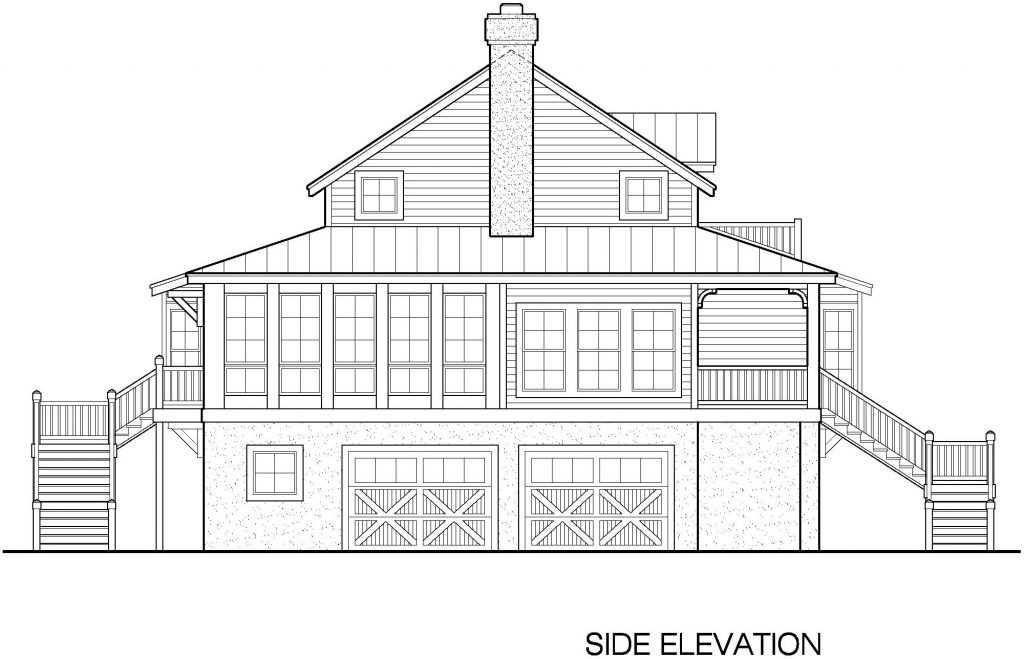 07 - Country-3565 - 7 - side elevation