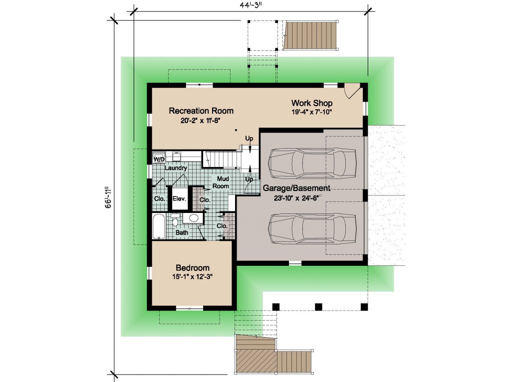 08 - Country-3565 Rev - 1 - ground floor