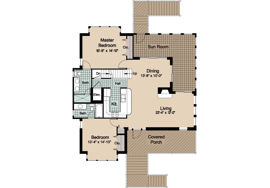 08 - Country-3565 Rev - 2 - first floor