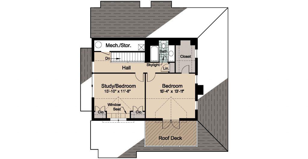 08 - Country-3565 Rev - 3 - second floor