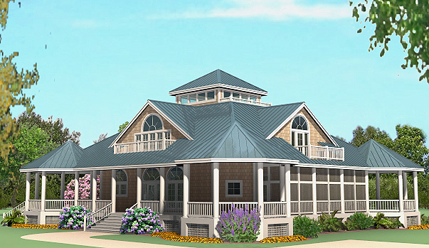 Grand Gazebo Cottage Front Right