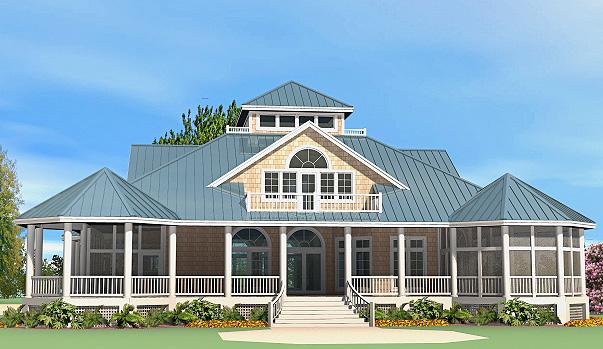 Grand Gazebo Cottage Rear