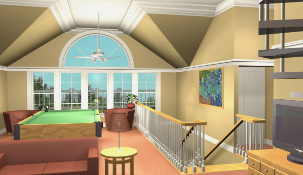 Grand Gazebo Cottage Family Room