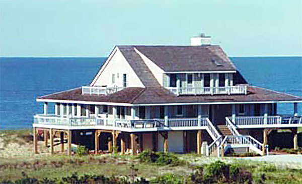 Nags Head Cottage - Piling Foundation, 3161 SF - Southern ... Raised Cottage Plans Coastal House on raised beach cottage plans, key west cottage plans, cottage living house plans, coastal cottage floor plans, raised cape house plans,